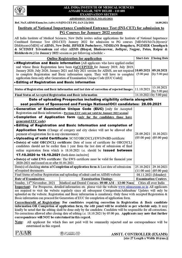 INI-CET January 2022 Admission Notice.jpg
