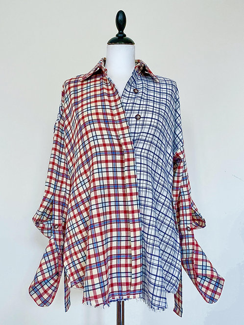 Baby flannel shirt