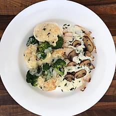 #D17 - Creamy Mushroom Chicken