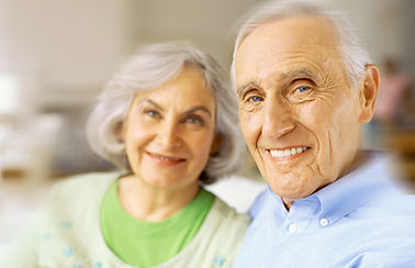 Sourire Couple senior