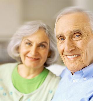 Sourire Couple senior