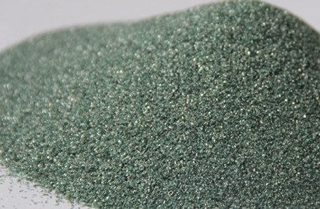 Carbureto de silício verde