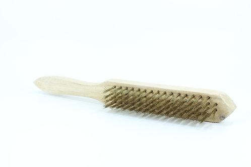 Escova de latão manual