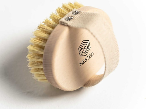 NESTED Bristles Body Brush - natural