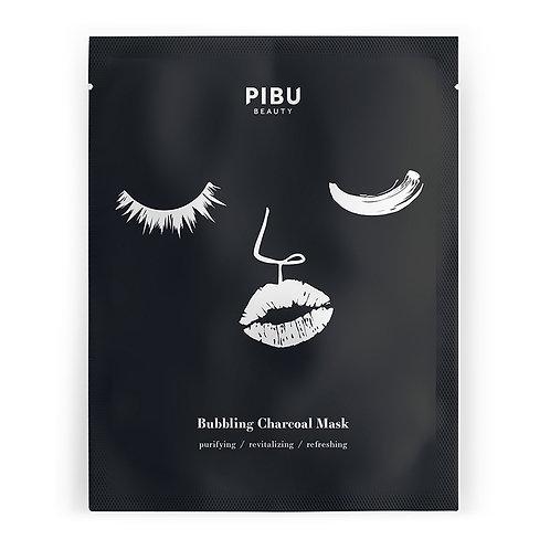 PIBU BEAUTY Bubbling Charcoal Mask