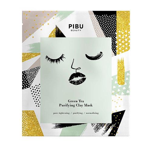 PIBU BEAUTY Green Tea Purifying Clay Mask