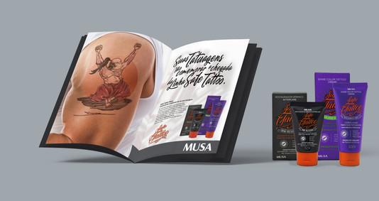 Anúncio Safe Tattoo