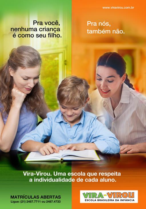 Vira-Virou - Anúncio-Mãe/Professora
