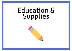 Education & Supplies