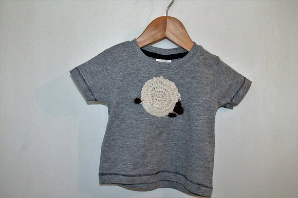 Cotton Grey 'T' Shirt