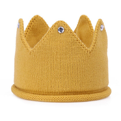 Mustard Jewelled Crown