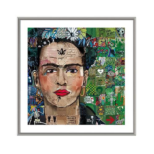 Sacrée Frida • 70x70 cm