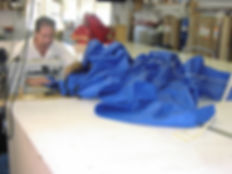 Dan Sewing Marine Canvas- Ocean Tailors