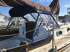 Navy Blue Bimini Top- Ocean Tailors Cape