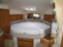 Searay latex foam boat mattress.JPG