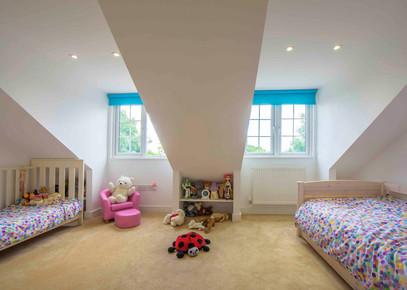 The Girls' New Bedroom