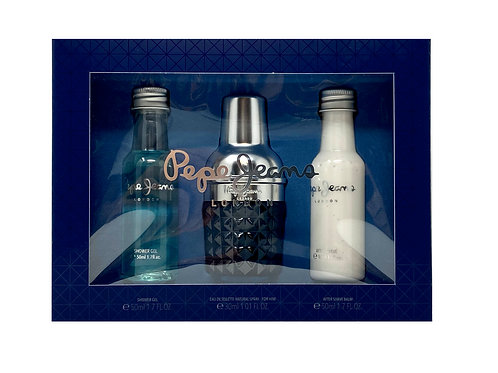 Pepe Jeans for Him 3pc Set - EDT 30ml + Shower Gel 50ml + A/S Balm 50ml
