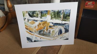 Dockside Acrylic  20 x 24