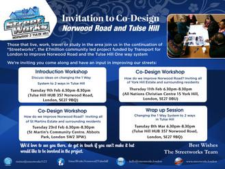 Invitation to Co-Design Feb & March