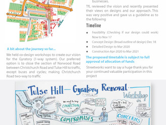 Tulse Hill one way system: update on the plans