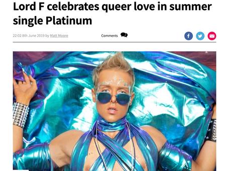 Platinum Article at GaytimesMag