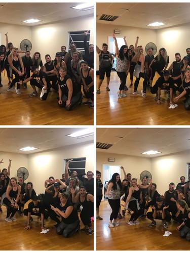 Post Cardio Dance Sweat Fest!