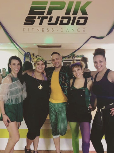 Mardi Gras instructors