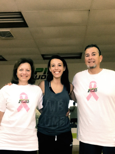 Ange & her parents post Total Body!