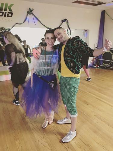 Eddie and Ange @ Mardi Gras