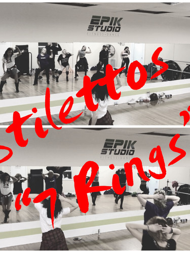 """Stilettos class -""""7 rings"""""""