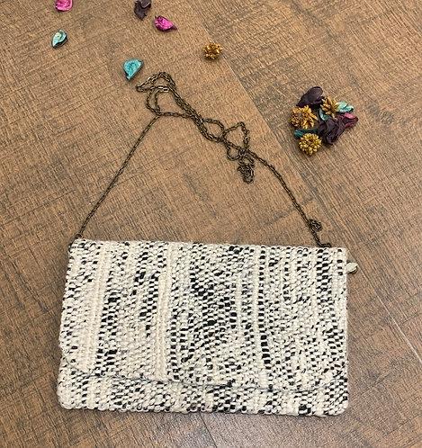Cotton and art silk yarn handbag