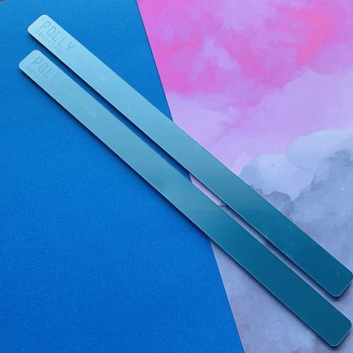 XL Pro Length Pearl Blue SMALL GUIDES (Longer Length)