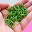 Thumbnail: APPLE GREEN - 10mm Jump Ring - 50 pairs