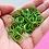 Thumbnail: APPLE GREEN - 10mm Jump Ring - 50 pairs