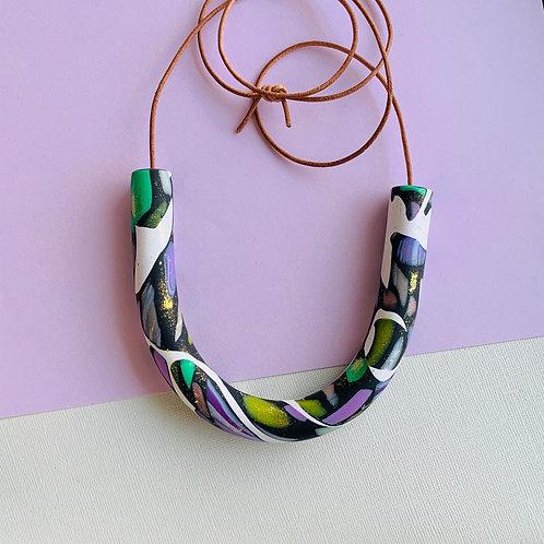 Cosmic Jungle - Necklace