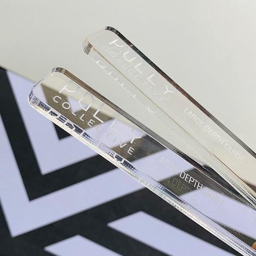 XL Pro Length Classic Clear LARGE GUIDES (Longer Length)
