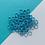 Thumbnail: TURQUIOSE BLUE - 10mm Jump Ring - 50 pairs