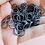 Thumbnail: SMOKE GREY - 10mm Jump Ring - 50 pairs