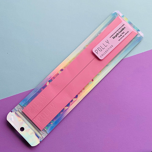 CANDY PINK - Small Depth Guides (Normal Length) OLD STOCK