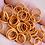 Thumbnail: TANGELO ORANGE - 10mm Jump Ring - 50 pairs
