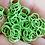Thumbnail: LIME GREEN - 10mm Jump Ring - 50 pairs