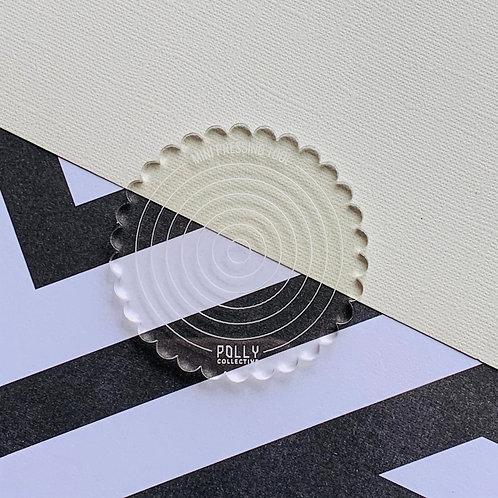 Mini Pressing Tool - Clear