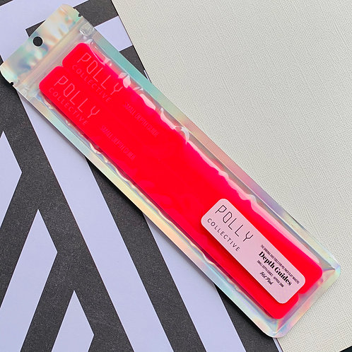 HOT PINK - Small Depth Guides (Normal Length) NEW SHAPE
