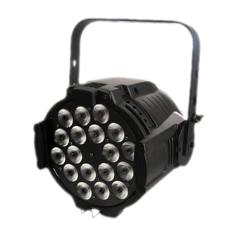 LUPAR LED 18 RGBWAUV