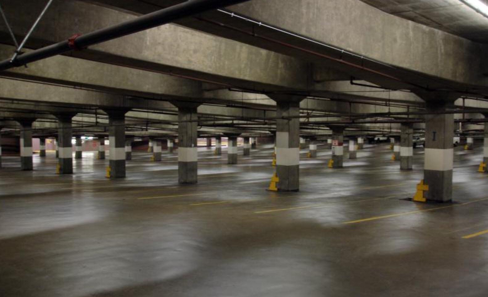 Sub-Grade Parking Garage