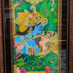 Radha Krishna Tanjore