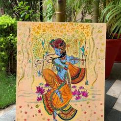 The Dancing Krishna