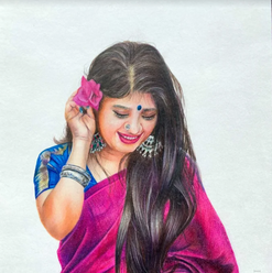 Indian Woman, a symbol of beauty, grace and strength