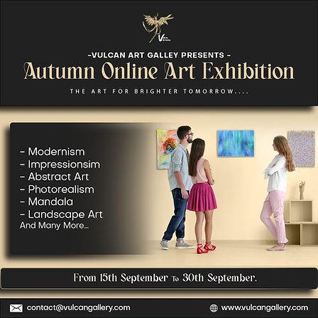 Autumn Online Art Exhibition | Vulcan Art Gallery