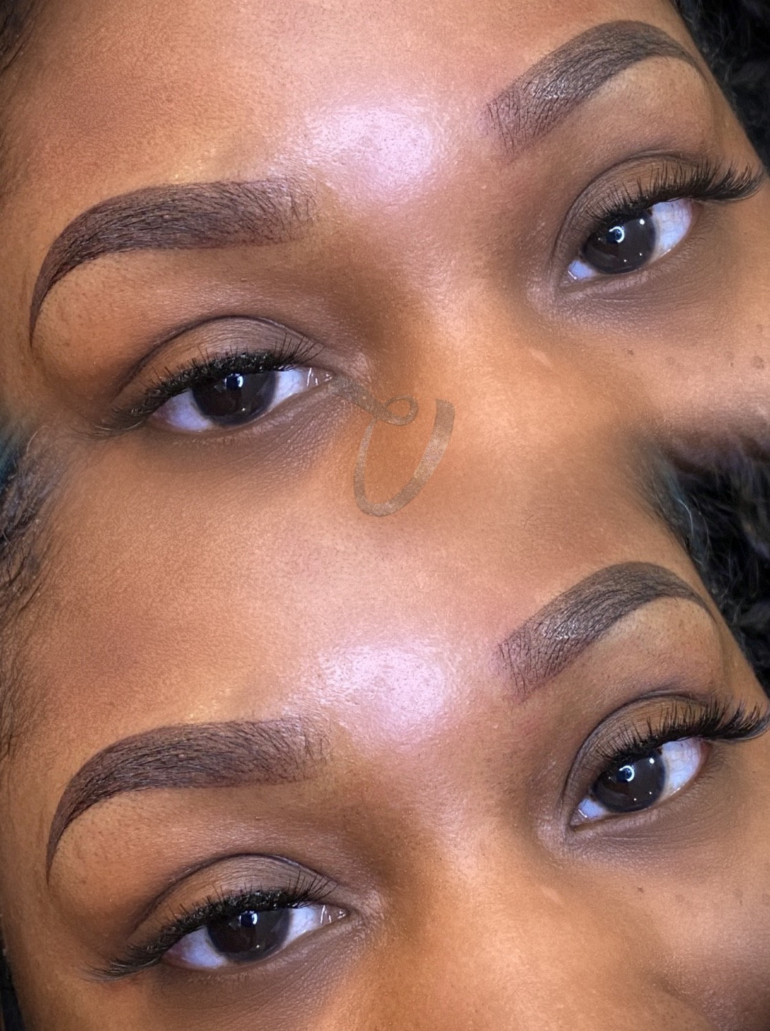 Ombre Touch-Up w/Individual Lashes